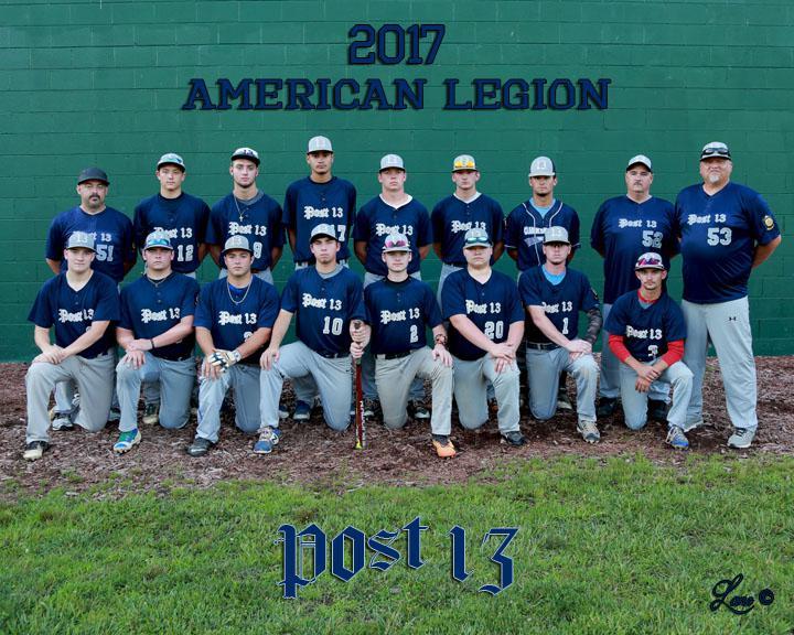 Clarksburg Post 13 2017 Baseball Team The American Legion
